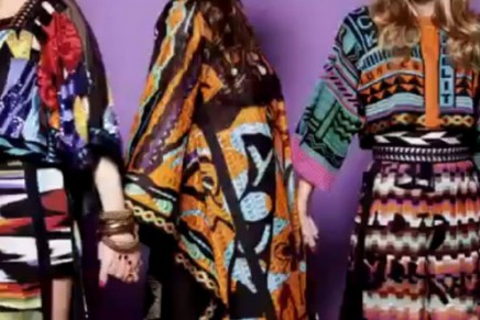 The Missoni Spring 2011 Campaign Video Ad is hip hop-tastic and we want IT ALL.