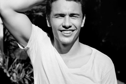One for the Francophiles. It's James Franco.