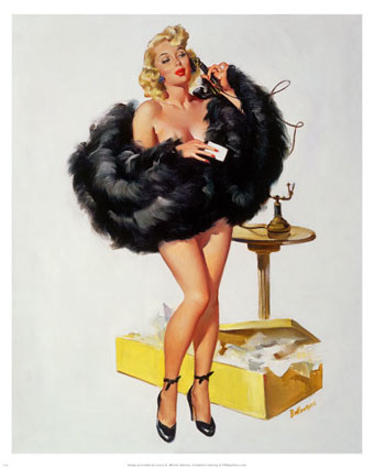 pin-up-girl-on-the-telephone