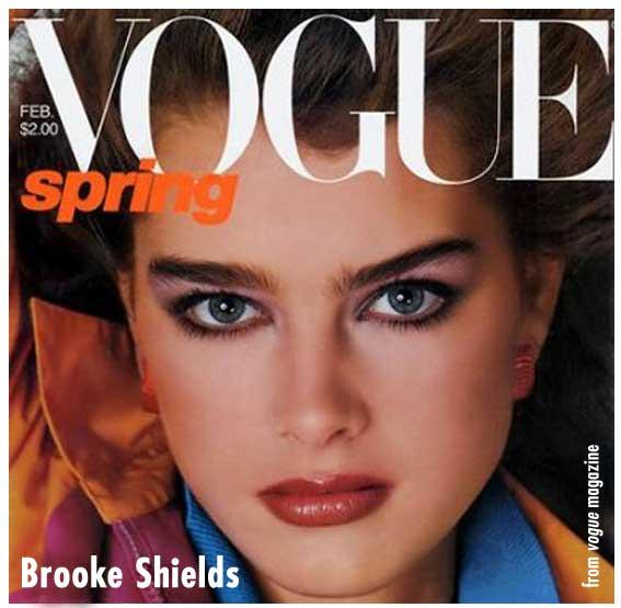Brooke Shields 80s