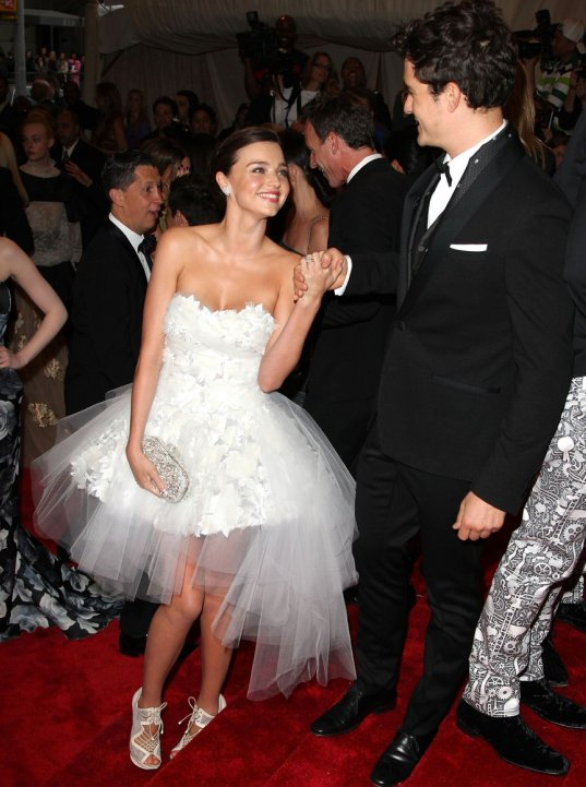 Miranda Kerr She must be as she seems to have recycled her wedding dress