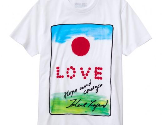 Uniqlo-SaveJapan-KarlLagerfeld