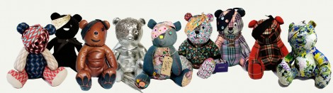 Pudsey Bear group shot
