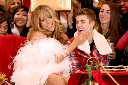 All I want for Christmas is for Mariah Carey to stop canoodling with Justin Bieber. Thanks.