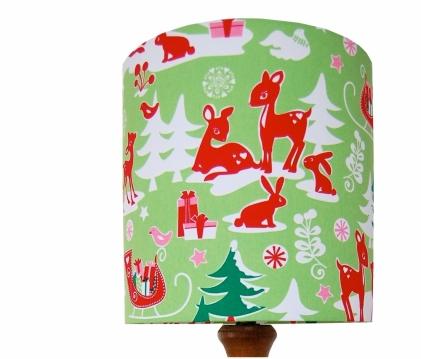 Christmas lampshade