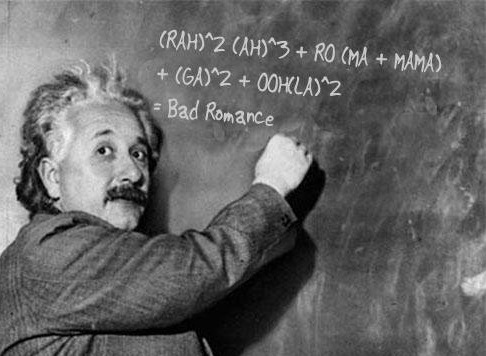 Bad Romance formula
