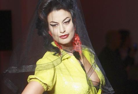 Jean Paul Gaultier Amy Winehouse couture show