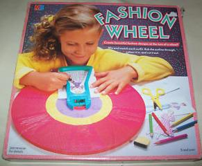 Fashion wheel toy le blow