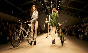 Rule PPQ Ltd Edition bikes at PPQ LFW Feb 2012