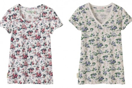 UNIQLO X Laura Ashley // Chintzy floral prints get properly pimped!