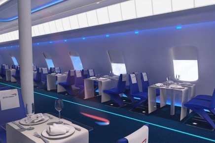 Blow Out (and about) // All aboard BA Flight 2012 AKA the British Airways pop-up restaurant