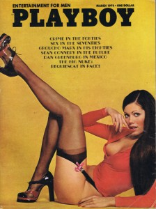 Playboy 1973 Terry de Havilland shoes