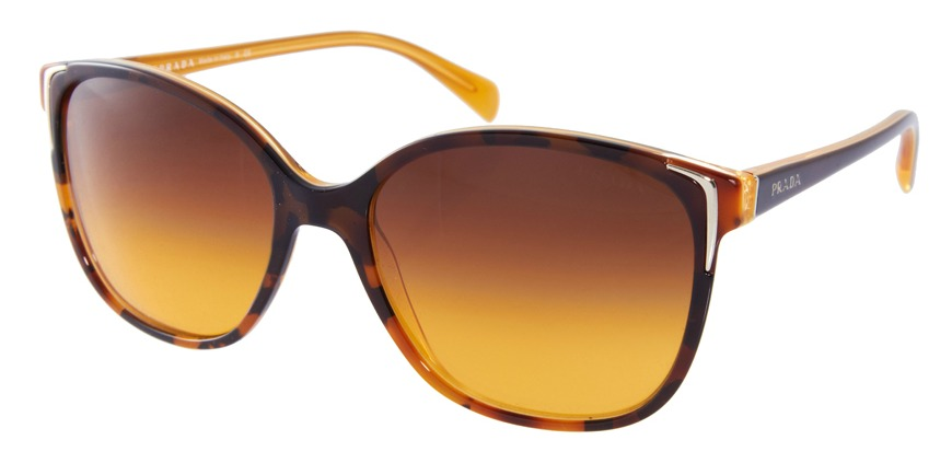 Prada Havana oversized shades