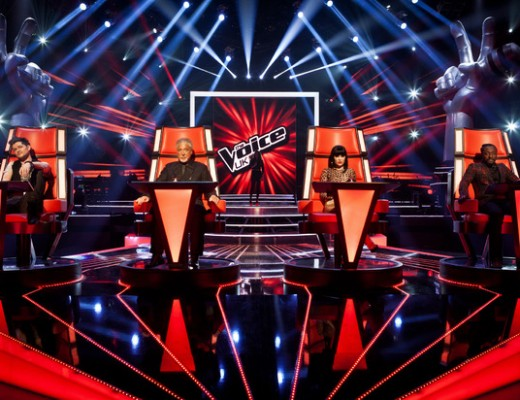 The Voice judges chairs