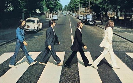 The Beatles Abbey Road zebra crossing