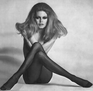 brigitte bardot in opaque tights