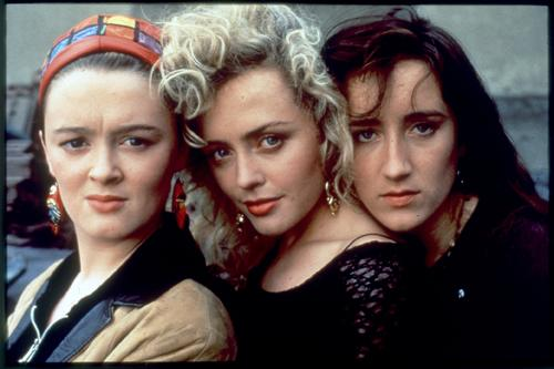 The girls from The Commitments