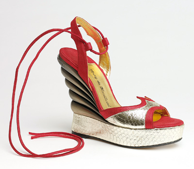 vintage Terry de Havilland wedges