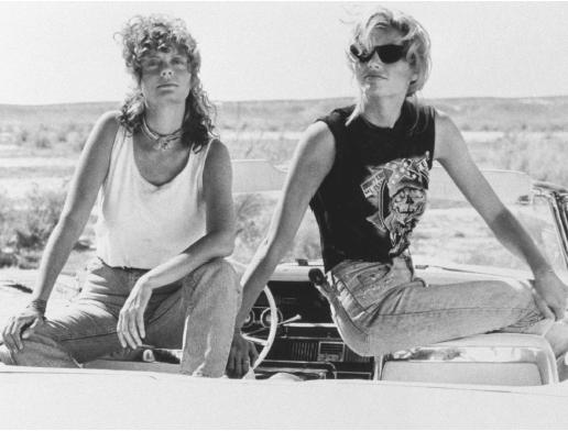 Thelma and Louise road trip movie