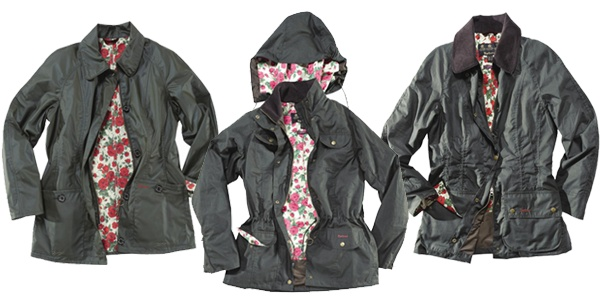 Barbour Liberty jackets