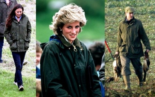 Barbour jackets have royal seal of approval