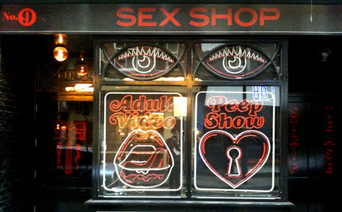 Sex shop tottenham court road
