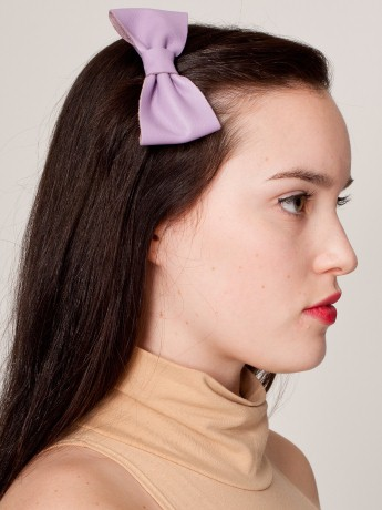 Leather lilac bow from American Apparel