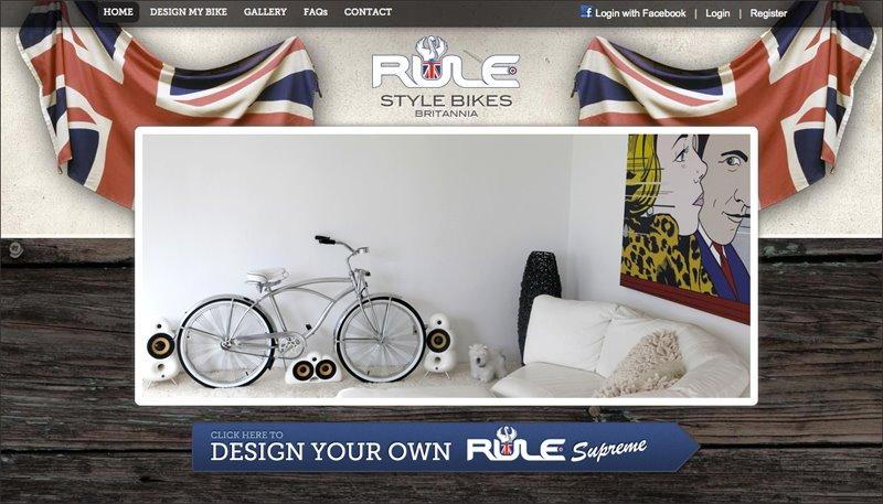 RULE Bikes website
