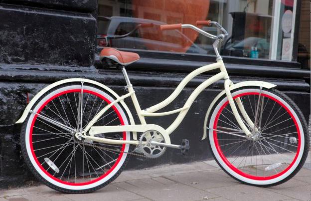 RULE bike red white