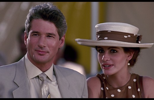 Julia Roberts polka dot dress Pretty Woman polo scene