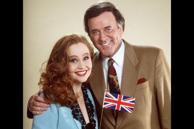 Sonia and Terry Wogan Eurovision UK 1993