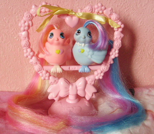 I Love The 80s Toys : Our obsession with rainbow coloured hair we blame the