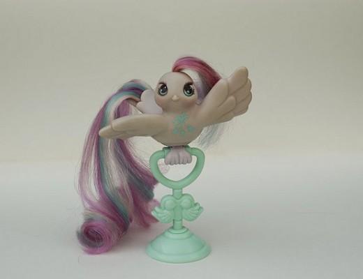 Fairy tails bird rainbow hair
