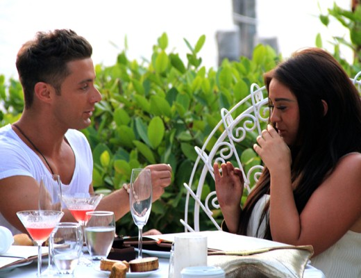 Geordie Shore's Ricci and Vicky get engaged