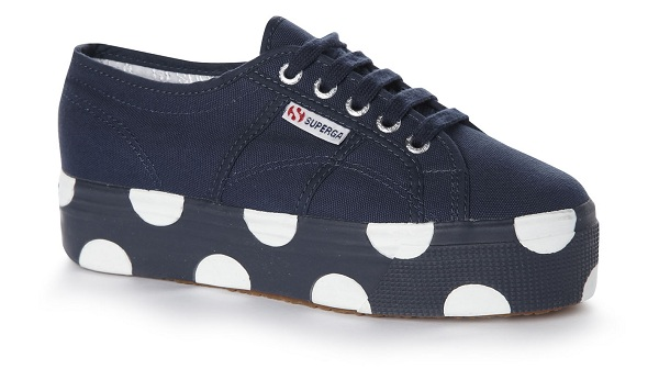 House of Holland Superga trainers black