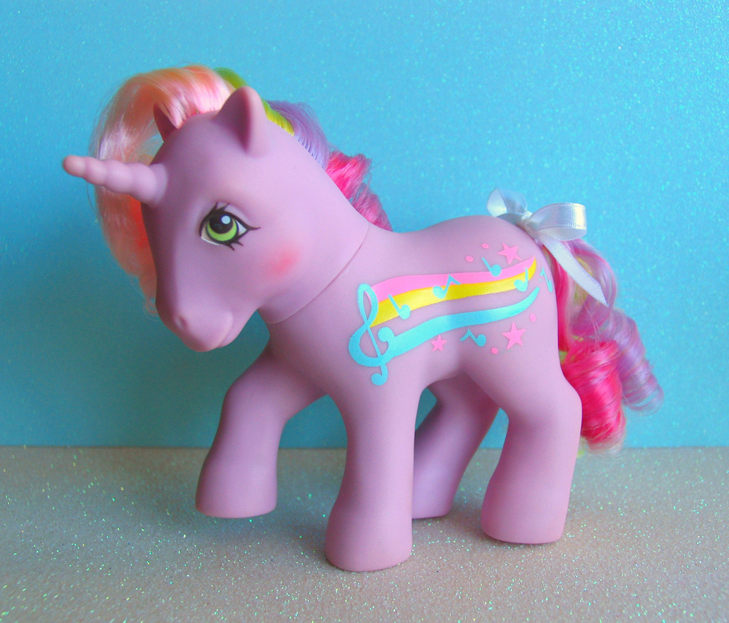 Toys For Ponies : Our obsession with rainbow coloured hair we blame the