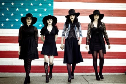 Gothic Girls // Jack White's Princesses of Darkness: The Black Belles