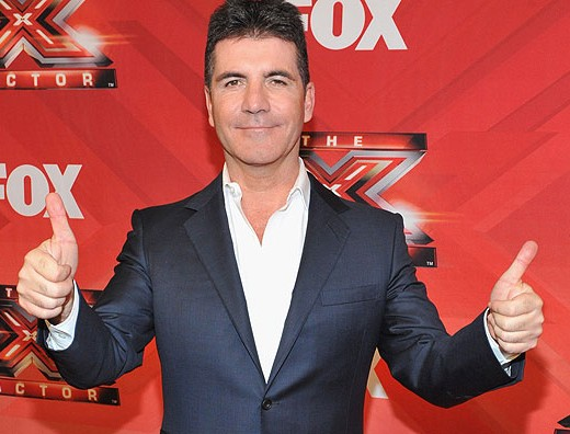 Simon Cowell thumbs up