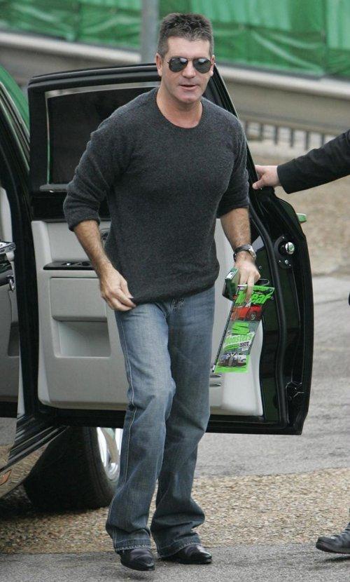 Simon Cowell bootcut jeans