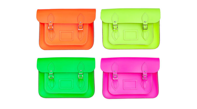 Fluoro Cambridge Satchels