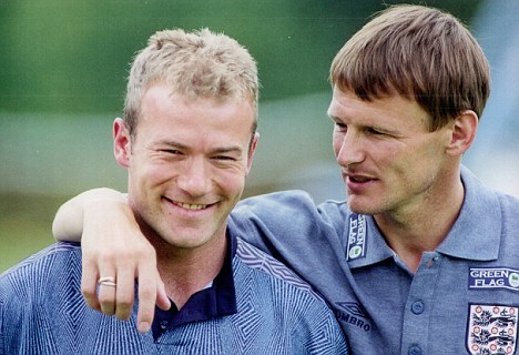 Alan-Shearer-and-teddy-Sherringham-Euro-96