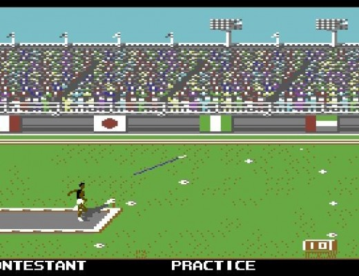 Commodore 64 Olympics 1988 games