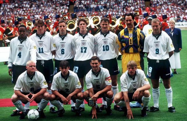 England squad Euro 96