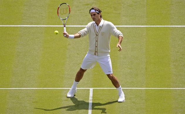 Roger Ferderer Wimbledon fashion 2012