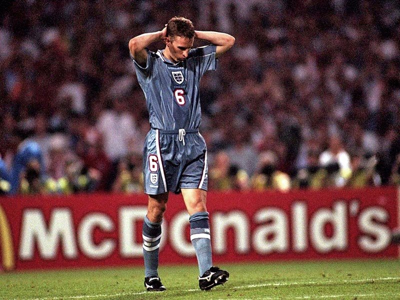 Southgate sad face Euro 96