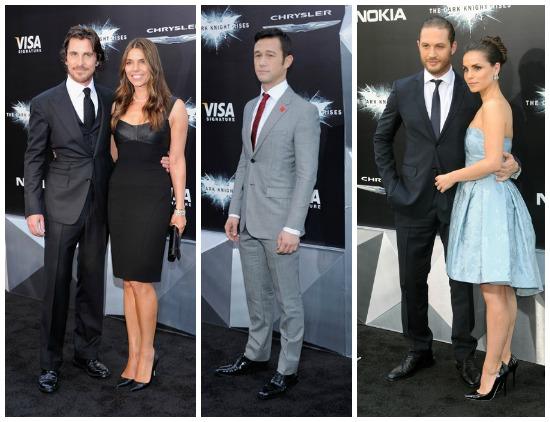 Batman Dark Knight Premiere hot male cast