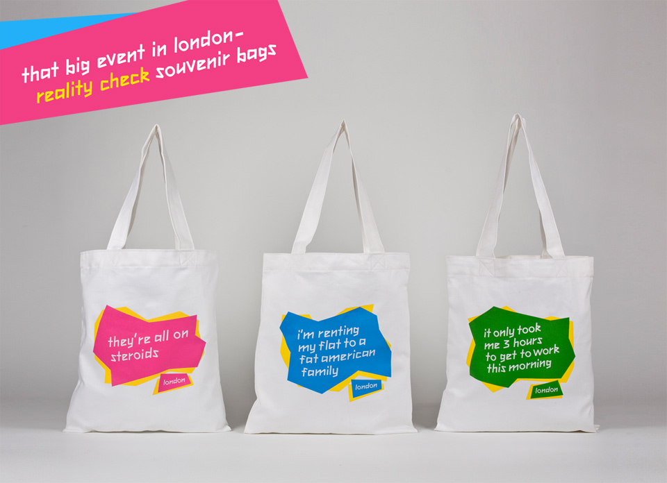 That Big Event in Loundon souvenir tote bags