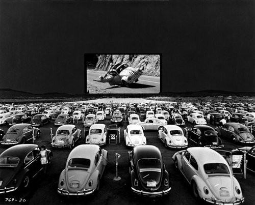 Beetles at the drive in movies