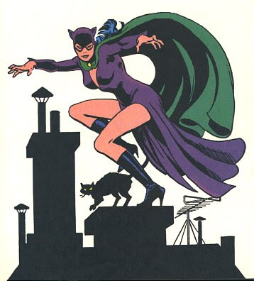 Catwoman cartoon