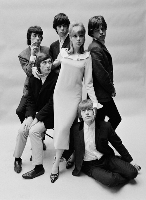 Patti Boyd and the Rolling Stones
